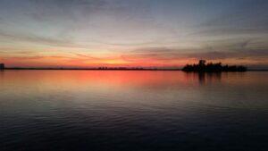 Vero Beach Boat Tour at Sunset